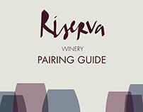 Riserva Winery Pairing Guidebook