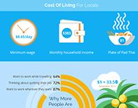 Digital Nomads Infographics