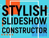Stylish slideshow constructor