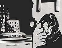 Comic Book Style Illustrations
