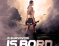 A Survivor is born | Lara Reborn - PhotoManipulation