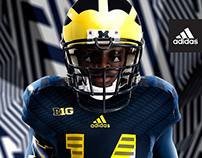 Michigan Football Uniform Launch (2014)