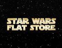 Star Wars Flat Store