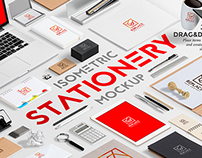 Isometric Stationery Mock Up Generator