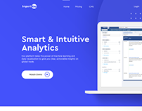 ImportKey Landing Page Design