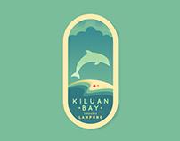 Kiluan Bay, the Dolphin Paradise Badge Logo