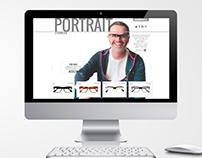 WEB DESIGN: PORTRAIT