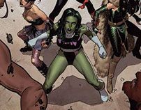 A-Force #3 Secret Wars