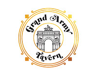 Logo Design for Grand Army Tavern