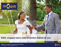 GROUPE NSIA -CAMPAGNE INSTIT - 20 ANS NSIA GROUPE.