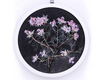 Flower circle series