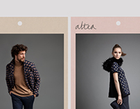 Altea FW 2015 Men and Women lookbooks