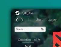 Steam - Interface Redesign