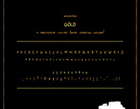 GOLD Typeface