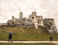 Ogrodzieniec - ruined medieval castle - Poland