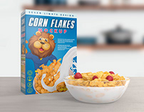 Cereal Package Mockup
