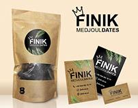 """Разработка и Mockup лого """"Finik"""""""