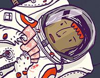 Astronauta Fisgas