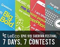 LeMe Campaign- Epic 919 #Superfan Festival