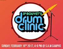 Drums workshop Poster