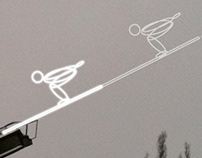 'GHOST JUMPER' - site specific installation / 2010