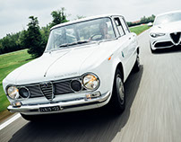 Fabrizio Giovanardi and the Alfa Romeo Giulia ti super