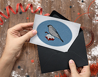Card Bullfinches