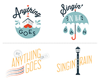 Anything Goes/Singin' in the Rain Logos Round 1