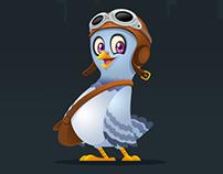 Pigeon Character/Mascot