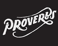 Black and White II Lettering Logo