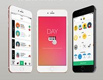 Day App UI Design