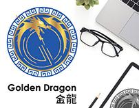 Brand Identity Design -Golden Dragon Chinese Restaurant