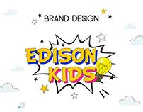 Edison Kids | Brand Design | Children's School