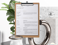 3-Page Resume & Cover Letter Template