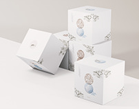 Trendy Exquisite Candle Label & Package