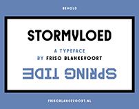Stormvloed Typeface