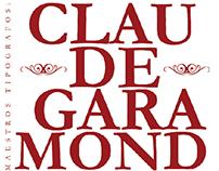 Libro Maestros Tipógrafos / Claude Garamond