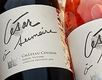 Château Coussin Wine Label