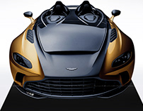 2020 Aston Martin V12 Speedster Black & Gold