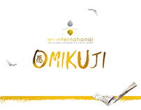 OMIKUJI - Eri International - Landingpage Design