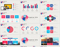 27+ Colorful annual report charts PowerPoint template