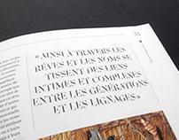 Mirage custom typeface