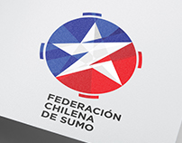 Logotipo para la Federación Chilena de Sumo