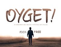 100% Free - Oyget! Font