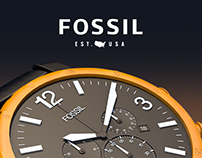 FOSSIL jr-1369 | CINEMA 4D