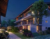 External visualization of Mei Hoamat Apartment Complex