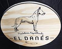 """Branding """"El Danés"""""""