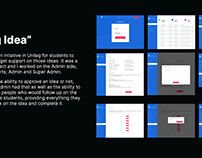 Unilag Idea UI Design