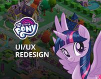 MY LITTLE PONY - User Interface Redesign