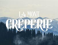 La Mont Creperie, logotype